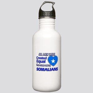 Somalian wife designs Stainless Water Bottle 1.0L