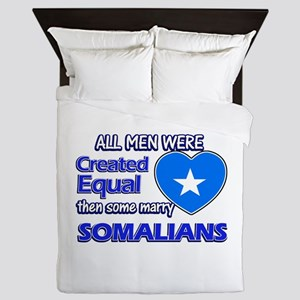 Somalian wife designs Queen Duvet