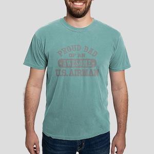 pdadawesomeusair3 Mens Comfort Colors Shirt