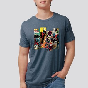 Nightcrawler Comic Panel Mens Tri-blend T-Shirt