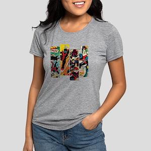 Nightcrawler Comic Panel Womens Tri-blend T-Shirt