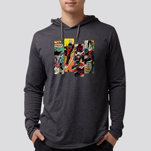 Nightcrawler Comic Panel Mens Hooded Shirt