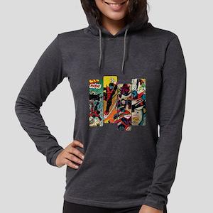 Nightcrawler Comic Panel Womens Hooded Shirt