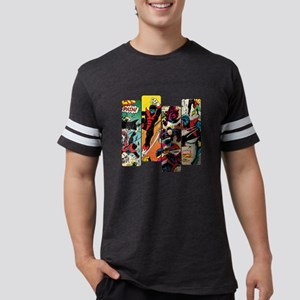 Nightcrawler Comic Panel Mens Football Shirt