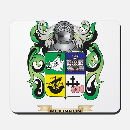 McKinnon Coat of Arms - Family Crest Mousepad
