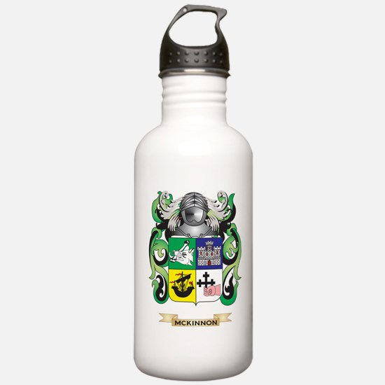 McKinnon Coat of Arms - Family Crest Water Bottle
