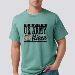 proudarmyniece777 Mens Comfort Colors Shirt