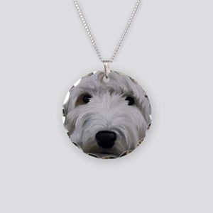 Buddy Necklace Circle Charm