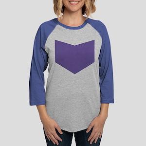 Hawkeye Chest Emblem Womens Baseball Tee