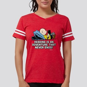 Charlie Brown - Reading is a Womens Football Shirt
