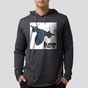 Blackbird-10 Mens Hooded Shirt