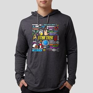 Trekkie Memories -dk Mens Hooded Shirt