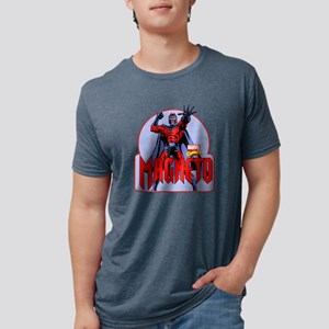 Magneto X-Men Mens Tri-blend T-Shirt