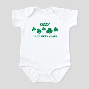 Ozzy is my lucky charm Infant Bodysuit