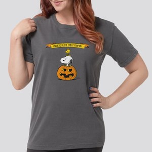 Peanuts Believe in the Womens Comfort Colors Shirt