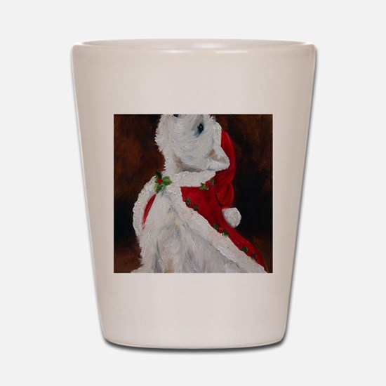 Joy to the World Shot Glass