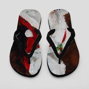 Joy to the World Flip Flops