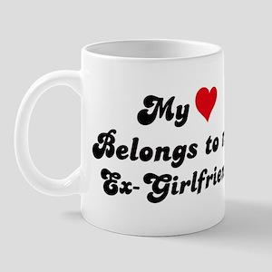 My Heart: Ex-Girlfriend Mug