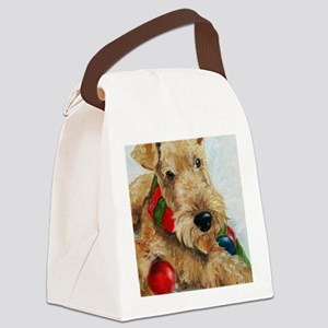Ornaments Canvas Lunch Bag