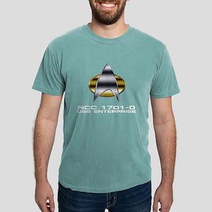 ent-d-chrome-badge dark Mens Comfort Colors Shirt