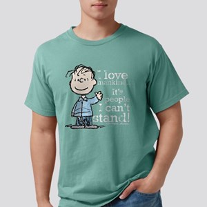 Linus - Mankind Mens Comfort Colors Shirt