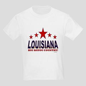 Louisiana Big Bayou Country Kids Light T-Shirt