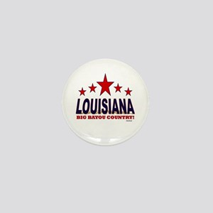 Louisiana Big Bayou Country Mini Button