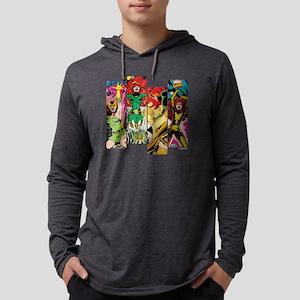 Phoenix Comic Panel Mens Hooded Shirt