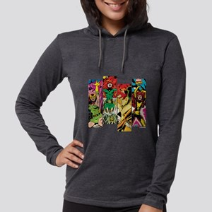 Phoenix Comic Panel Womens Hooded Shirt