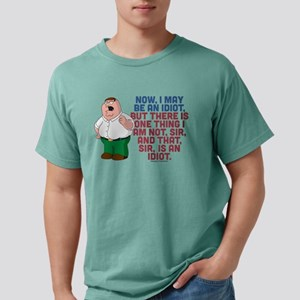 Family Guy Idiot Light Mens Comfort Colors Shirt