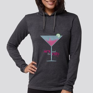 Sex and the City Martini  Womens Hooded Shirt