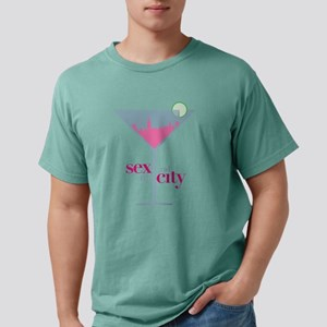 Sex and the City Martini Mens Comfort Colors Shirt