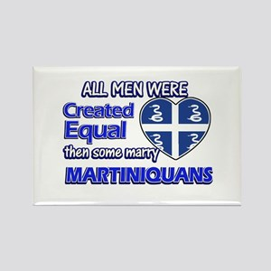 Martiniquans wife designs Rectangle Magnet