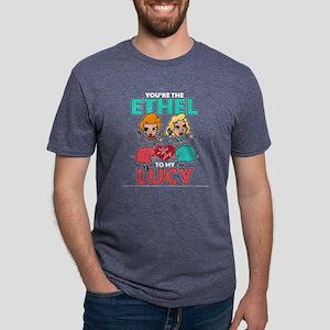 Ethel to my Lucy Dark Mens Tri-blend T-Shirt