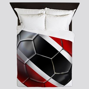 Trinidad Tobago Football Queen Duvet