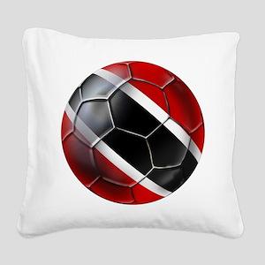 Trinidad Tobago Football Square Canvas Pillow