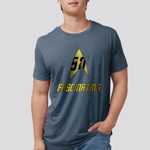 Star Trek 50 Fascinating Mens Tri-blend T-Shirt