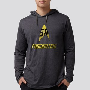 Star Trek 50 Fascinating Mens Hooded Shirt