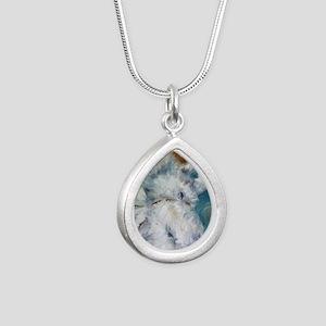 Bed Hog Silver Teardrop Necklace
