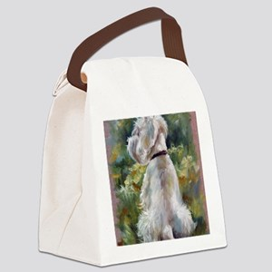 Living Color Canvas Lunch Bag