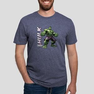 The Hulk Mens Tri-blend T-Shirt