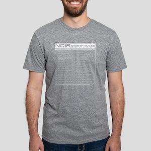 NCIS Gibbs' Rules Mens Tri-blend T-Shirt