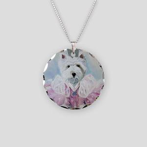 Glenda the Good Pup Necklace Circle Charm