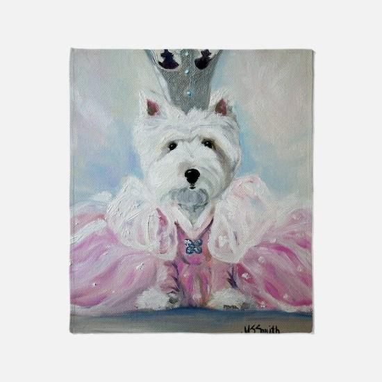 Glenda the Good Pup Throw Blanket
