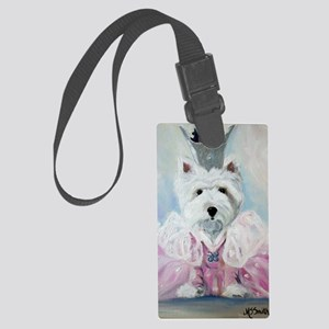Glenda the Good Pup Large Luggage Tag