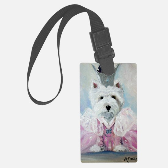 Glenda the Good Pup Luggage Tag