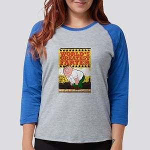 Family Guy World's Greatest Fa Womens Baseball Tee