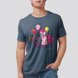 MLP Pinkie Pie Party Time P Mens Tri-blend T-Shirt