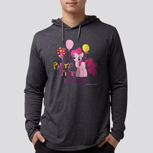 MLP Pinkie Pie Party Time Person Mens Hooded Shirt