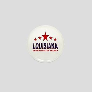 Louisiana U.S.A. Mini Button